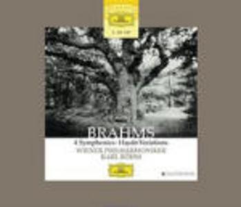 CD Sinfonie complete - Variazioni Haydn di Johannes Brahms