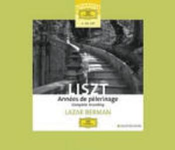 CD Années de pélegrinage n.1, n.2, n.3 di Franz Liszt