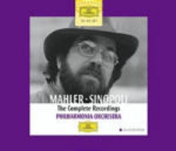 CD Sinfonie complete - Lieder completi di Gustav Mahler