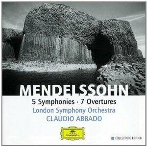 CD Sinfonie - Ouvertures di Felix Mendelssohn-Bartholdy
