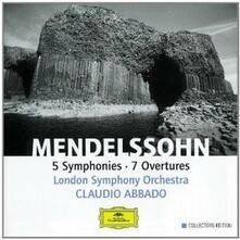 Sinfonie - Ouvertures - CD Audio di Felix Mendelssohn-Bartholdy,Claudio Abbado,London Symphony Orchestra