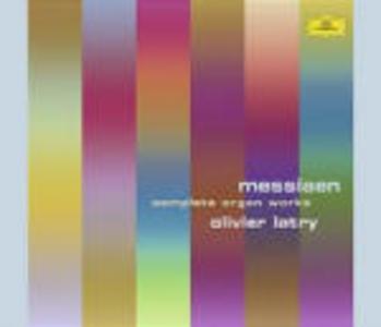CD Opere per organo complete di Olivier Messiaen