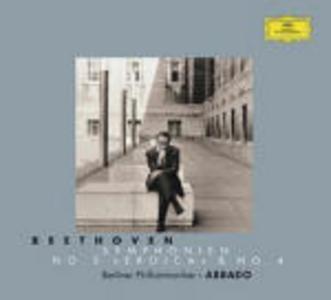 CD Sinfonie n.3, n.4 di Ludwig van Beethoven