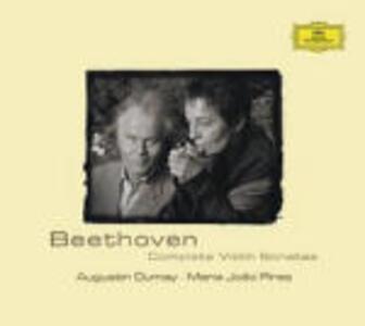 Sonate per violino complete - CD Audio di Ludwig van Beethoven,Augustin Dumay,Maria Joao Pires