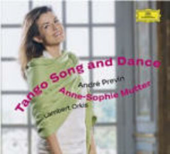 CD Tango Song and Dance