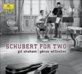 CD Schubert for Two di Franz Schubert