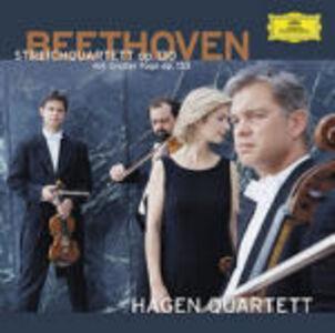 CD Quartetti op.130, op.133 / Adagio e fuga K546 di Ludwig van Beethoven