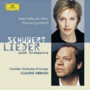 CD Lieder con Orchestra di Franz Schubert