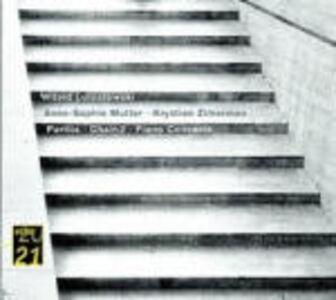 CD Concerto per pianoforte - Partita per violino - Chain 2 di Witold Lutoslawski