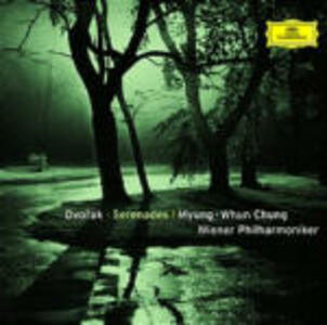 Serenate - CD Audio di Antonin Dvorak,Wiener Philharmoniker,Myung-Whun Chung