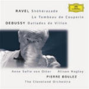 Foto Cover di Sheherazade - Le tombeau de Couperin / Ballades de Villon, CD di AA.VV prodotto da Deutsche Grammophon