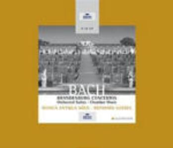 Concerti brandeburghesi completi - Suites per orchestra complete - Sonate per violino - Sonate per flauto - CD Audio di Johann Sebastian Bach,Reinhard Goebel,Musica Antiqua Köln