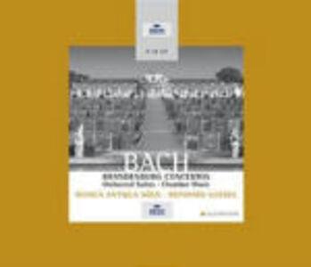 CD Concerti brandeburghesi completi - Suites per orchestra complete - Sonate per violino - Sonate per flauto di Johann Sebastian Bach