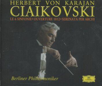 Foto Cover di Sinfonie complete - Ouverture 1812 - Serenata per archi, CD di AA.VV prodotto da Deutsche Grammophon