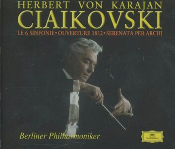 CD Sinfonie complete - Ouverture 1812 - Serenata per archi di Pyotr Il'yich Tchaikovsky