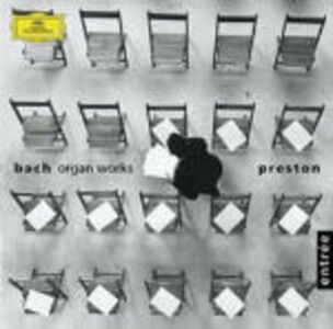 CD Opere per organo di Johann Sebastian Bach