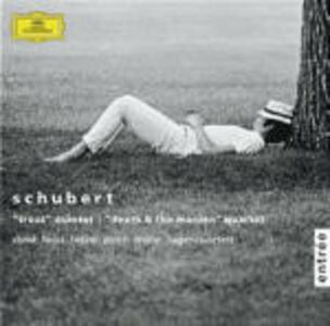 "CD Quintetto con pianoforte ""La trota"" - Quartetto ""La morte e la fanciulla"" di Franz Schubert"