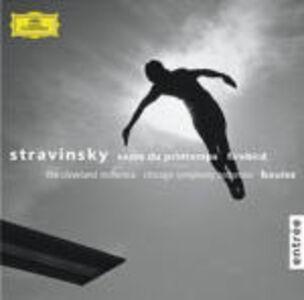 CD La sagra della primavera (Le Sacre du Printemps) - L'uccello di fuoco (L'oiseau de feu) di Igor Stravinsky