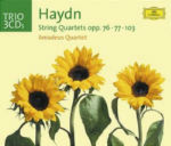 CD Quartetti per archi op.76, n.77, n.103 di Franz Joseph Haydn