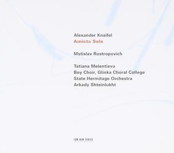 Amicta Sole - Salmo 51 - CD Audio di Mstislav Rostropovich,Alexander Knaifel