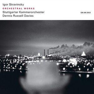 Foto Cover di Orchestral Works, CD di Igor Stravinsky, prodotto da ECM Records