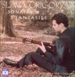 CD Sonatas & Fantasies di Slava Grigoryan