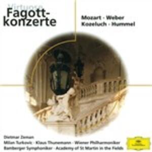 Virtuose Fagottkon - CD Audio