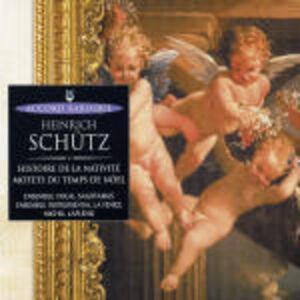 CD Storia della natività di Heinrich Schütz