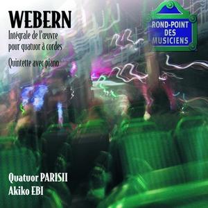 CD Quartetti per archi completi di Anton Webern