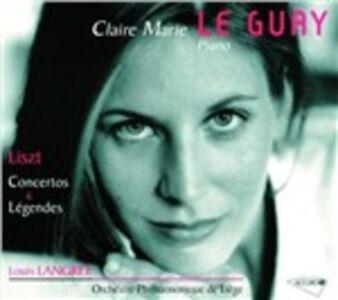 CD Concerti per pianoforte - 2 Légendes di Franz Liszt