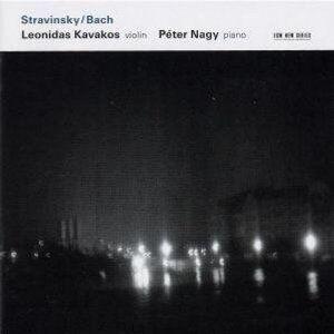 CD Stravinsky / Bach Johann Sebastian Bach , Igor Stravinsky