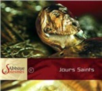 Foto Cover di Jours Saints, CD di Monaci dell'Abbazia di Solesmes, prodotto da Accord