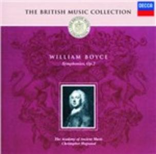 CD Sinfonie op.2 di William Boyce