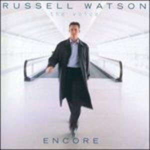 Foto Cover di Encore, CD di Russell Watson, prodotto da Decca