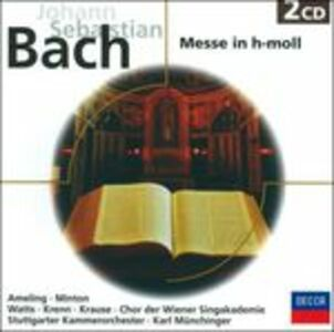 CD Messa in Si minore di Johann Sebastian Bach