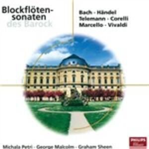 Blockfloetensonaten - CD Audio
