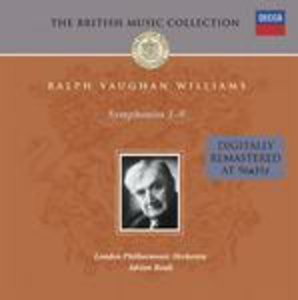 CD Sinfonie complete di Ralph Vaughan Williams