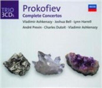 CD Concerti completi di Sergei Sergeevic Prokofiev