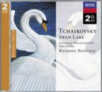 Il lago dei cigni - CD Audio di Pyotr Il'yich Tchaikovsky,Richard Bonynge,National Philharmonic Orchestra