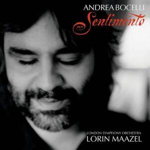 Foto Cover di Sentimento, CD di Andrea Bocelli, prodotto da Sugar Music