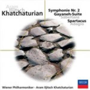 CD Sinfonia n.2 di Aram Khachaturian