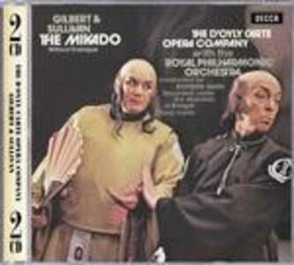 The Mikado - CD Audio di William S. Gilbert,Arthur Sullivan