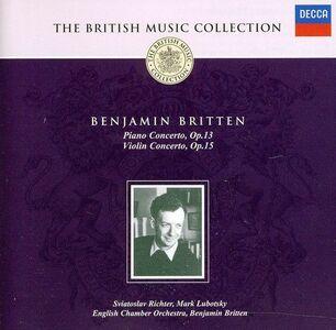 Foto Cover di Piano & Concerto per Violino, CD di Benjamin Britten, prodotto da Decca