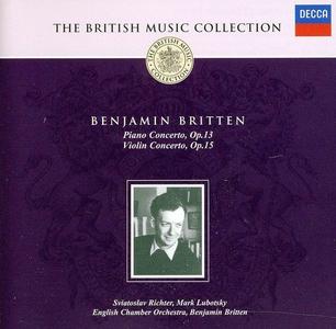 CD Piano & Concerto per Violino di Benjamin Britten