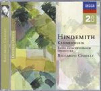CD Musiche da camera complete di Paul Hindemith