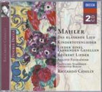 CD Lieder di Gustav Mahler