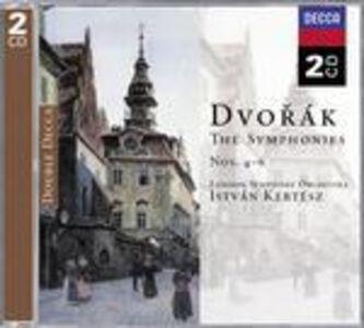 CD Sinfonie n.4, n.5, n.6 di Antonin Dvorak