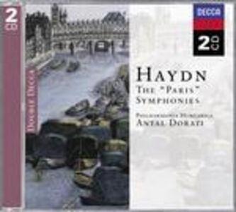 CD Sinfonie n.82, n.83, n.84, n.85, n.86, n.87 di Franz Joseph Haydn