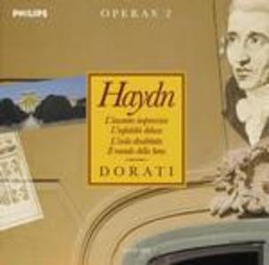 CD Operas vol.2: L'incontro improvviso - L'infedeltà delusa - L'isola disabitata di Franz Joseph Haydn