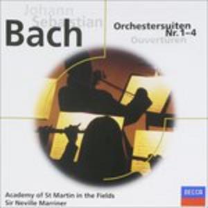 CD Orchestersuiten 1 - 4 di Johann Sebastian Bach